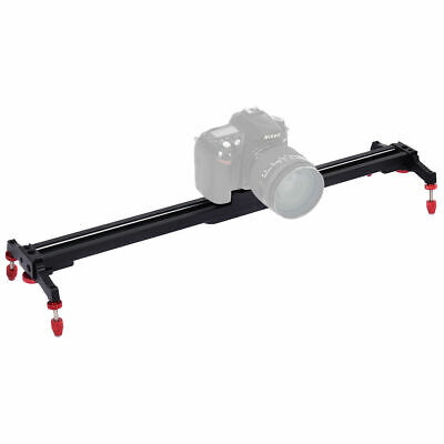 "24"" Camera Video Slider Track Stabilizer Rail Ball-Bearing Adjustable Leg w Bag"