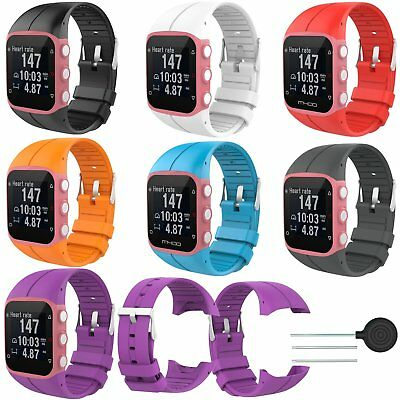 10 Colors Silicona Pulsera Banda Correa para Polar M400 M430 GPS Running Watch