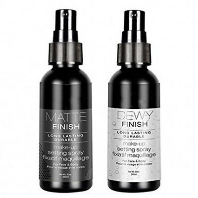 Long Lasting Makeup Setting Spray Matte or Dewy Finish