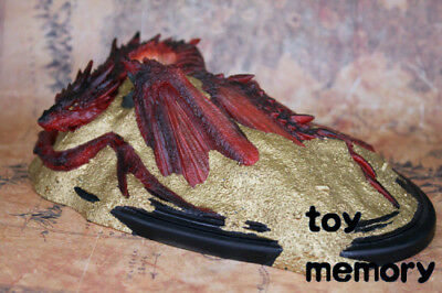 IN STOCK THE-LORD-OF-THE-RINGS-Smaug-Resin-statue-Figurines Decoration-NEW