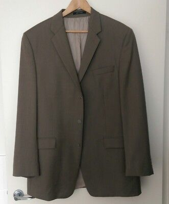 Calvin Klein Mens Suit Jacket 3 Button Wool - Size 44XL - Very Good Condition