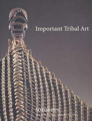 Sotheby's New York Important Tribal Art 1997 HB