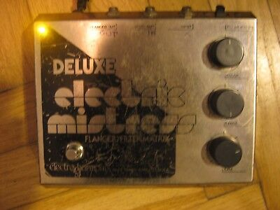 Electro-Harmonix Deluxe Electric Mistress Flanger Guitar Effect Pedal