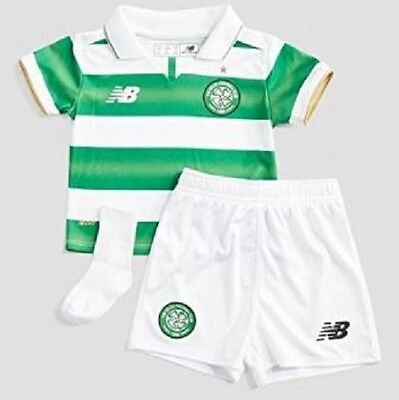 New Celtic Baby Infant Home Kit 2016/17 by New Balance