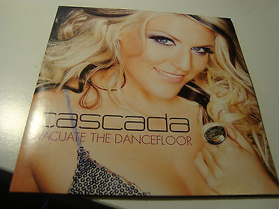 Rar Single Cd. Cascada. Evacuate The Dancefloor. Ed. Cartón. Cardsleve