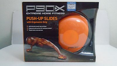 P90x Push Up Slides With Ergonomic Grip 2 Pieces Brand New In Box