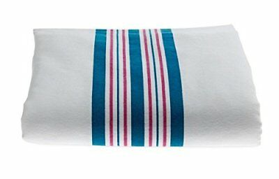 6 Soft Baby Infant Hospital Blankets 30X40 Stripe Receiving Swaddling Med 1St