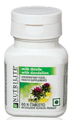 Amway NUTRILITE Milk Thistle With Dandelion-60N tablets Supports Liver Brand New
