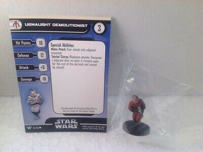 Star Wars Champions of the Force 59/60 Ugnaught Demolitionist (C) Miniature