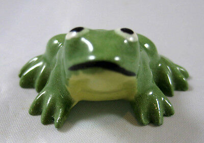 Hagen Renaker miniature made in America Frog Mama retired