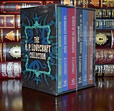 H.P. Lovecraft Collection Cthulhu Dunwich New Sealed 6 Volume Box Set