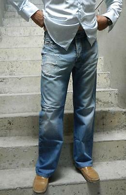 VINTAGE Diesel Industry KURREN 008KK Rocker Ripped Distressed Denim Jeans 32