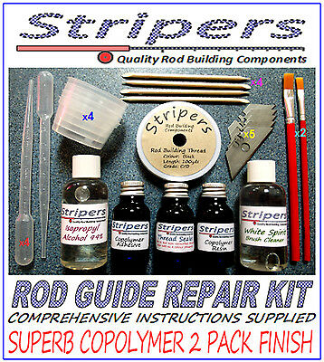 """""""Rod Building and Repair an Elite Advanced Copolymer Thread Coating System"""""""
