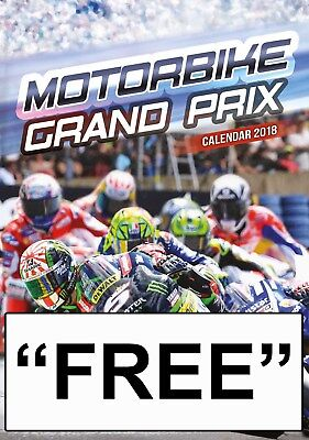 "Moto Gp & Superbike Calendar  2018 With ""free"" Uk Tracked Del"