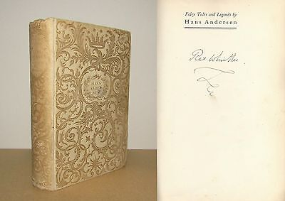 Rex Whistler - Signed - Fairy Tales and Legends by Hans Andersen - 1st/1st