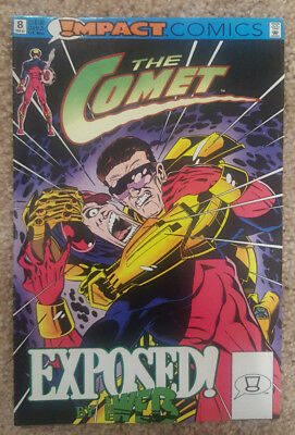 The Comet #8 (Feb 1992, DC) Exposed, g46