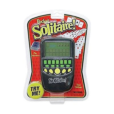 New Electronic Handheld Pocket Solitaire Game