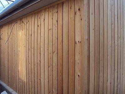 "Siberian Larch A Grade, Kiln Dried, Long Lengths, (4"" SAMPLE), Great Durability"