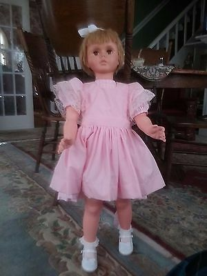"Vintage Patty PlayPal Type Doll 35"" Uneeda Great Condition --Reduced!"