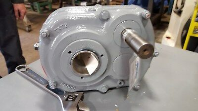 Dodge Gear Reducer, Shaft Mount TXT225T 25:1 with tapered-bore output hub