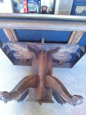 Antique Clawfoot Table and Chairs  LOCAL PU ONLY
