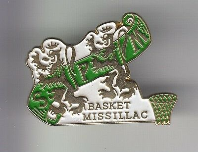 Rare Pins Pin's .. Sport Basket Ball Club Team Lion  Bretagne Missillac 44  ~C4