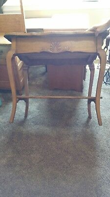 Antique Parlor Table with Drawer