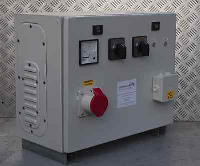 Static Converter 7.5KW - Single to 3 Three Phase 240v to 415v