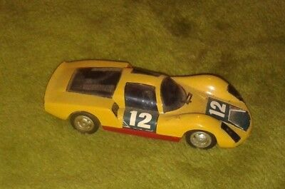 1/32nd scale push and go Porsche Carrera 906 would make great slot car