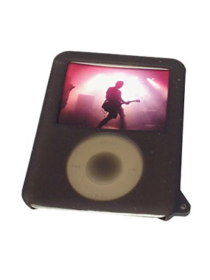 IPod nano 3 g-silicone-coque de protection-noir