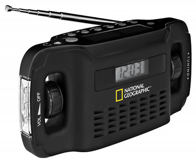 National Geographic Radio solaire + Chargeur