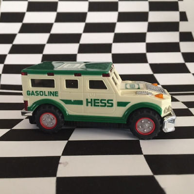 2001 Hess Toy Truck Armored Car Working Lights