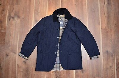 Barbour Men's Tandale Quilted Tartan Casual Jacket XL