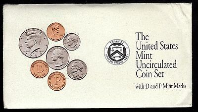 1992 U.s. Uncirculated Set In Mint Cond. ( D & P Mint Marks )