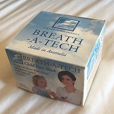 Breath-A-Tech Child Face Mask for Asthma Inhaler