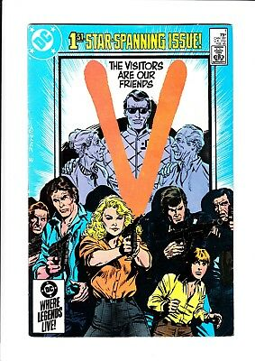 """""""V"""" The Visitors Are Our Friends (TV) (Complete set / #1-18) - DC Comics / 1985"""