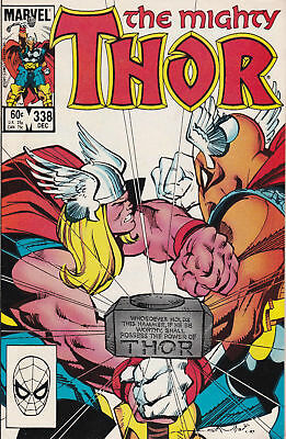 The Mighty Thor#338 VF 8.0 Uncertified  2nd App. and origin of Beta Ray Bill.