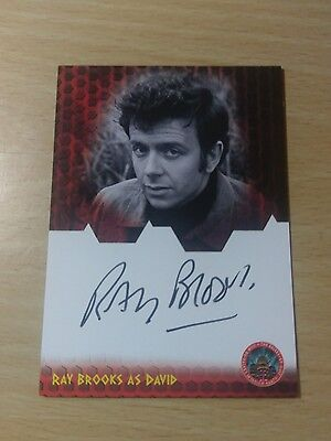 Doctor Who Ray Brooks Autograph Card Dr Who & The Daleks Dwrb Trading Card