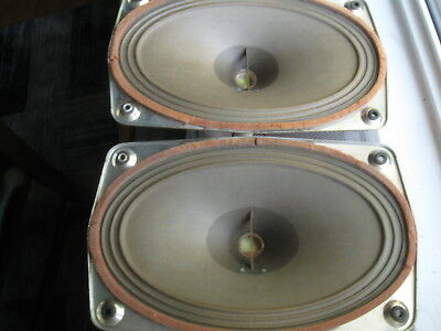 Vintage Grundig Oval Woofers/Full Range 12 x 7 Inch Exc Cond Tube Gear