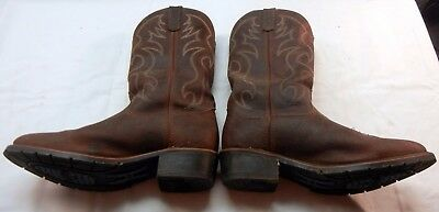 Western Cowboy Boots by Double-H Boot Company 10 1/2 Made in USA