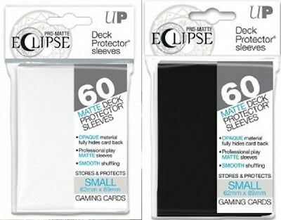 PRO-Matte Eclipse Small Deck Protector sleeves (60 Count/Pack)