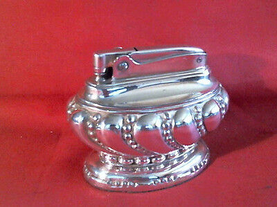 @@@ - A Very Nice Little Ronson Crown Petrol Table Lighter - Gwo @@@