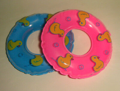 Doll Mini Swimming Ring EW30666 Pink for Barbie the Best Gift for Your children