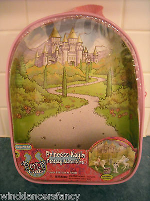 Breyer Pink Backpack Girl Accessory Princess Kayla Stablemate Brand New Cute