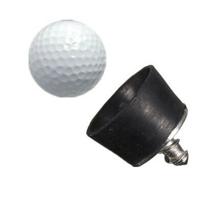 Schwarz Rubber Golfball Pickup Suction Cup Pick-up Retriever Putter Handle