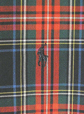 Vintage RALPH LAUREN Plaid Button-Up Shirt (90s) Blake TARTAN PATTERN! WOW! XL