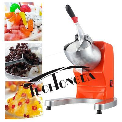 Commercial Electric Ice Shaver Snow Cone Maker Shaved Crusher 110V 300W