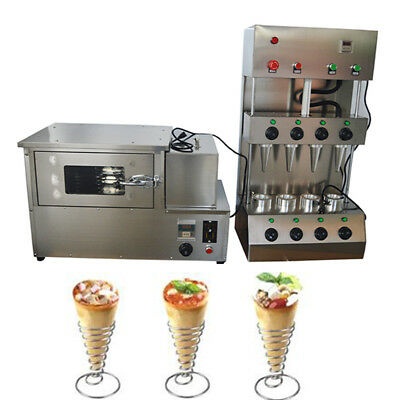110V 2600W One Set of Commercial Pizza Machine Forming Making Machine + Rotation