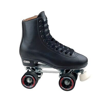 Chicago Rink Skates Roller Outdoor Skating Home Back Yard Deluxe Leather Lined