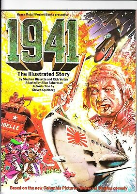 """Heavy Metal Presents """"1941"""" - The Illustrated Story - High Grade (9.0) - 1979"""